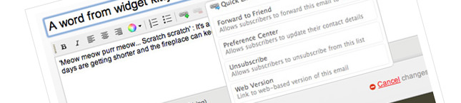 Updated Feature – Better Email Campaign Editor