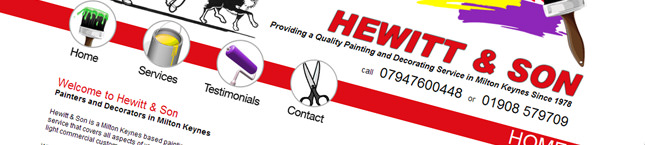 Hewitt & Son Website