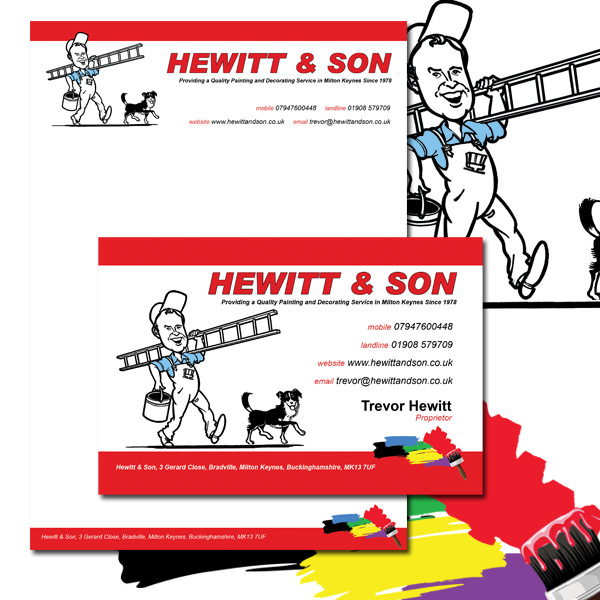 Hewitt & Son Corporate Stationery