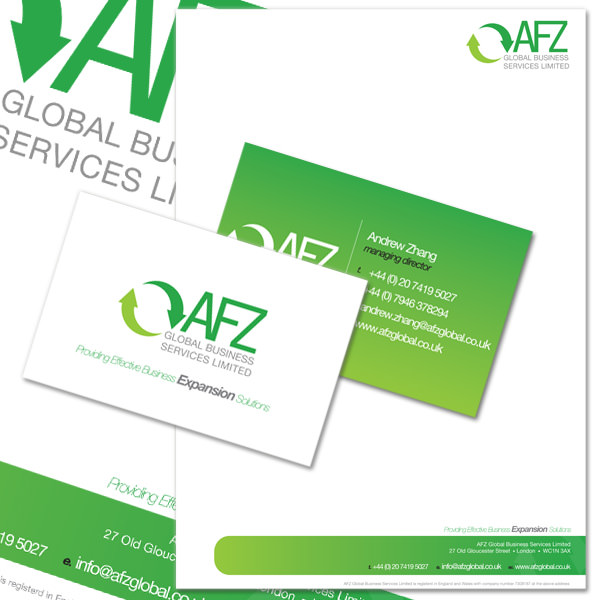 AFZ Global Stationery Designs