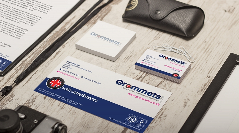 Grommets Ltd - Design of corporate stationery