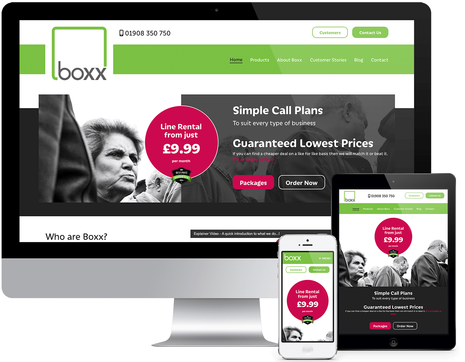 Boxx Communications - View Project