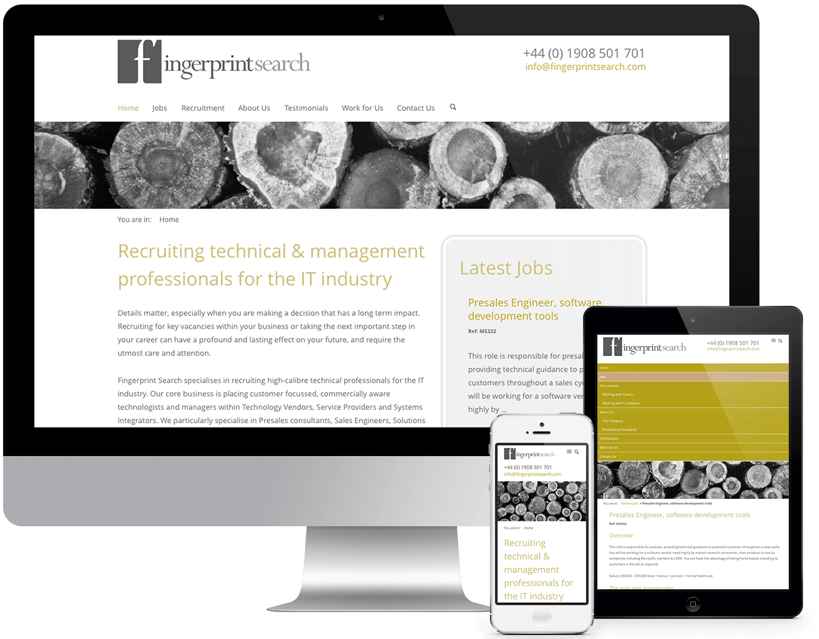 Fingerprint Search - Visit the Website