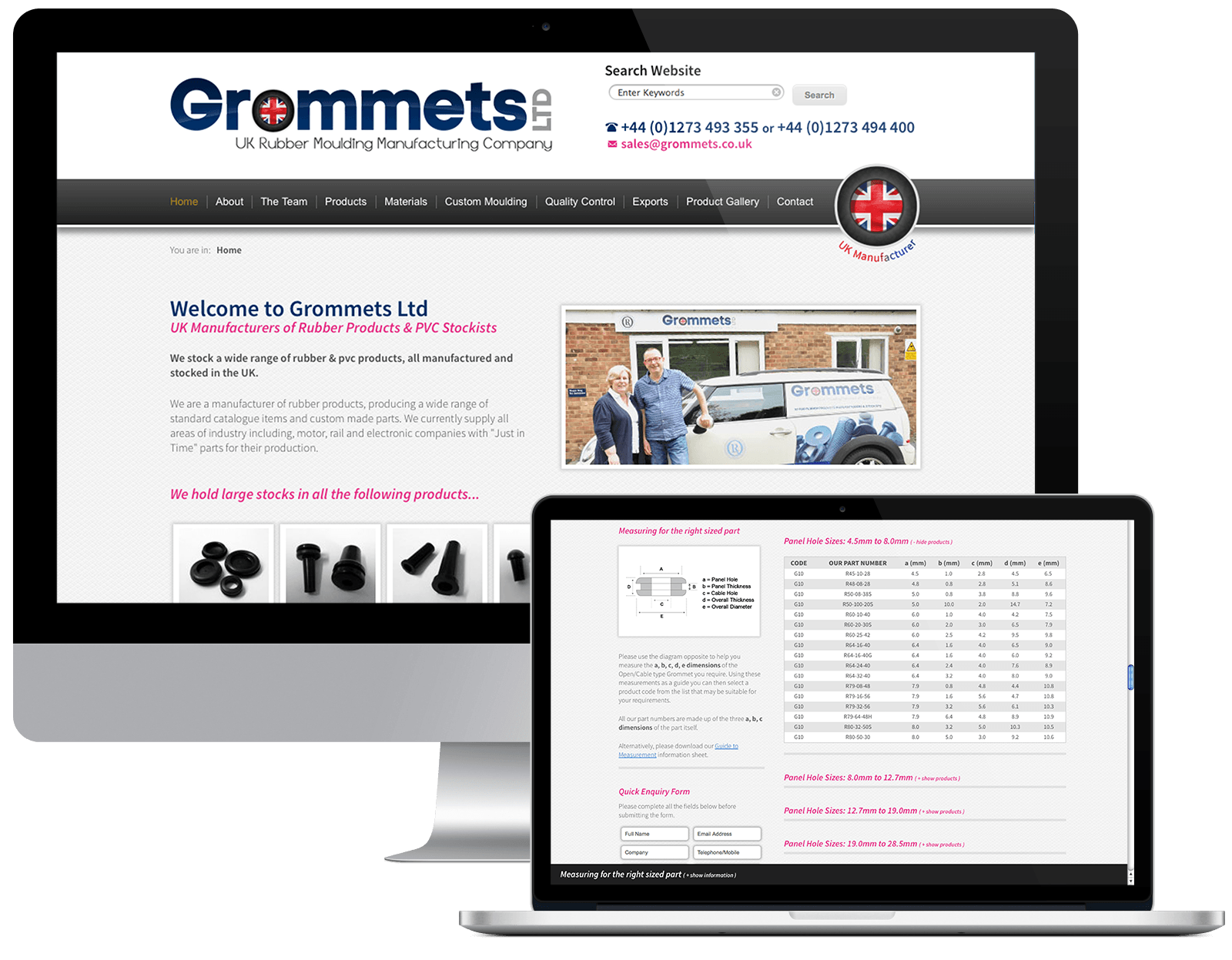 Grommets Ltd - Visit the Website